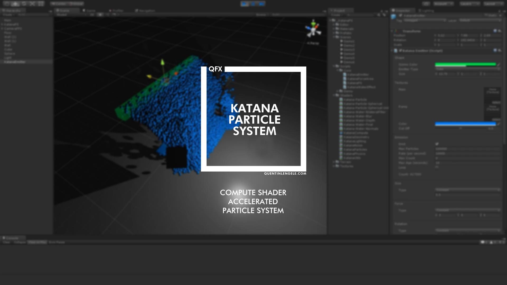 Katana Particle System